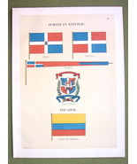FLAGS Ecuador Dominican Republic Naval Marine -... - $12.20