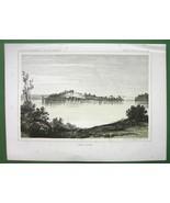 AMERICAN WEST Minnesota Lake Jessie - 1850s Tin... - $13.46