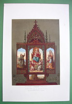 PRAYER DESK of Archduchess Sophia of Austria - ... - $20.20