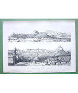 MEXICO Yucatan Site of Mayan Ruins at Uxmal - 1... - $46.28