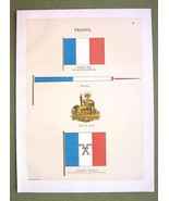 FLAGS FRANCE Coat of Arms National Naval Marine... - $12.20