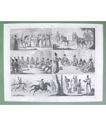 PERSIA People Natives Music Wedding Punishment ... - $15.15