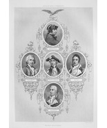 NAVAL COMMANDERS John Paul Jones Hopkins Dale T... - $20.95