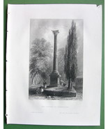 CONSTANTINOPLE  Column of Theodosius Turkey - B... - $11.78