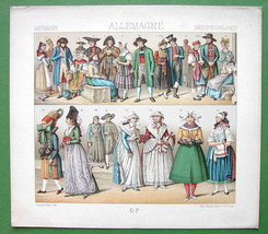 COSTUME of Germany Bavaria Catholics Protestant... - $18.51