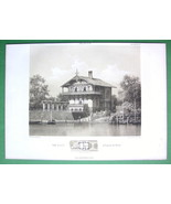 ARCHITECTURE PRINT : Germany Berlin Villa Landr... - $31.56