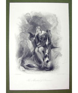 FRANCE Minstrel of Provence Young Maiden Dog - ... - $20.20