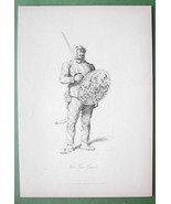 CHINA Chinese Soldier Tiger of War - 1858 Origi... - $37.03