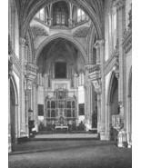 SPAIN Toledo Monastery San Juan de los Reyes - 1860s Antique Engraving P... - $46.28