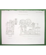 STEAM Double Towing Engine 45 HP - 1842 Antique... - $7.57
