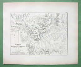 SPAIN Medina Moclin & Environs & Battle of 1808... - $15.98