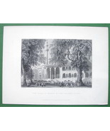 CONSTANTINOPLE Mosque of Sultana Valide - ca 18... - $18.51