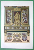 LUXURY FURNITURE Baroque Marquetry by Boulle - ... - $31.98
