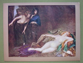 NUDE Chief's Booty Blond Circasian Girls - COLOR Offset Litho Print - $16.79