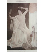 NUDE Young Maiden After Bath Toilette - VICTORI... - $15.15