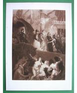 NUDE Landing of Catherine de Medicis Nymphs - S... - $20.20