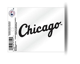 """2 MLB Chicago White Sox """"Secondary Logo"""" Small Static Decal - $4.19"""