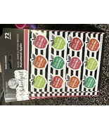 Schoolgirl Style 72ct - Motivational Apples Stickers - $7.50