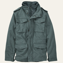 TIMBERLAND A1CHA-C28 BARRETT MOUNTAIN M65 MEN'S INSULATED MILITARY JACKET - $103.99