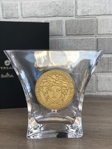 Versace By Rosenthal Vase 18 Cm / 7.1 In Medusa Madness New - $280.00