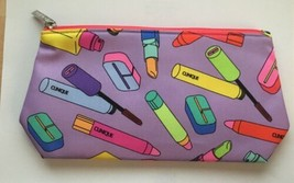 Clinique Cosmetic Bag Made for Macy's Brand Bright Pastels New   - $9.89