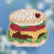 Hamburger Spring Series 2018 seasonal ornament kit cross stitch Mill Hill  - $7.20