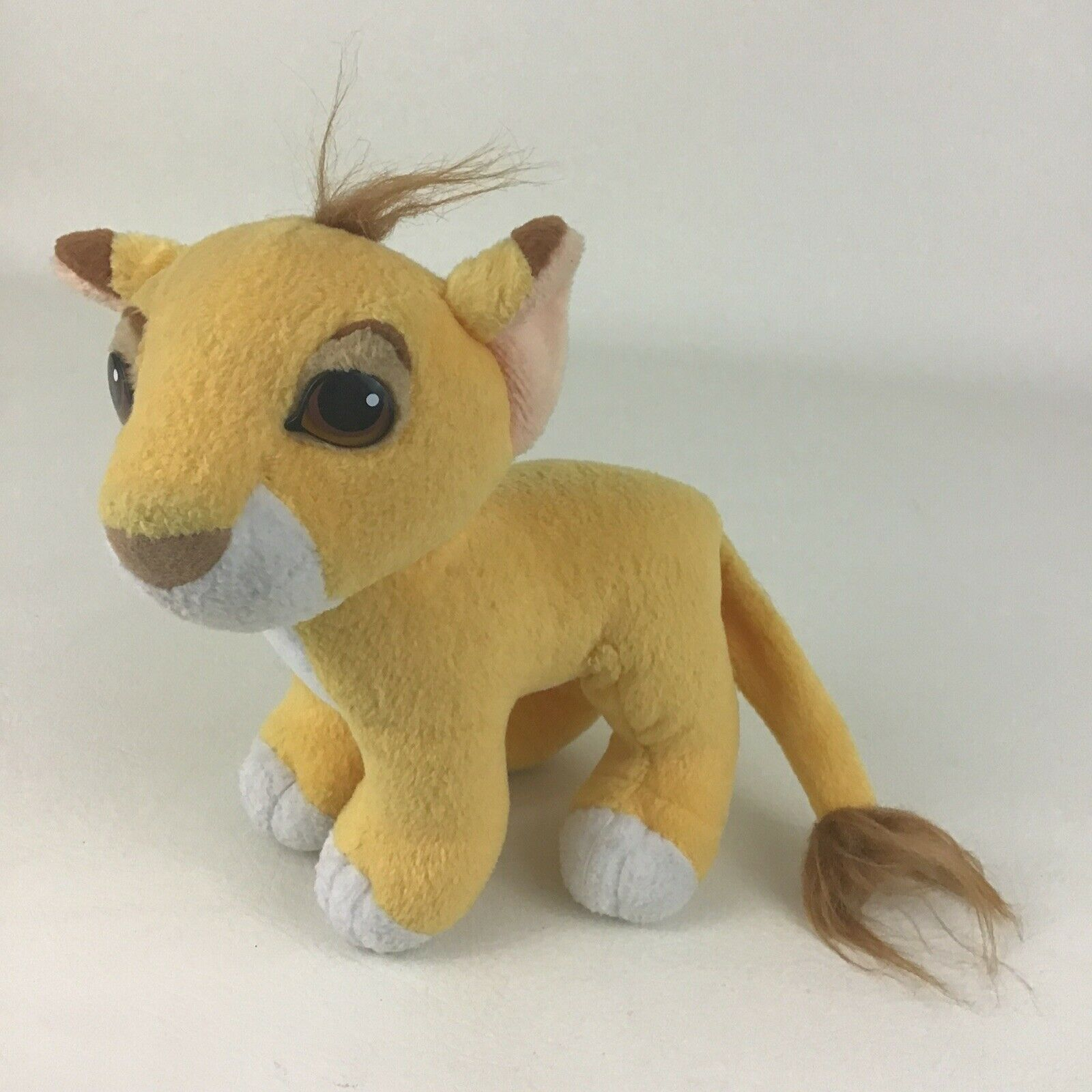 "Primary image for The Lion King Simba Cub Plush Stuffed Animal Toy Disney Movie 8"" Toy Vintage 90s"