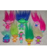 Set of 9 Trolls From Trolls Blind Bags Pack #2 - $49.00