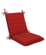 """CC Outdoor Living 36.5"""" Conran Red Dashed Lines Patio Squared Chair Cushion - $140.32"""