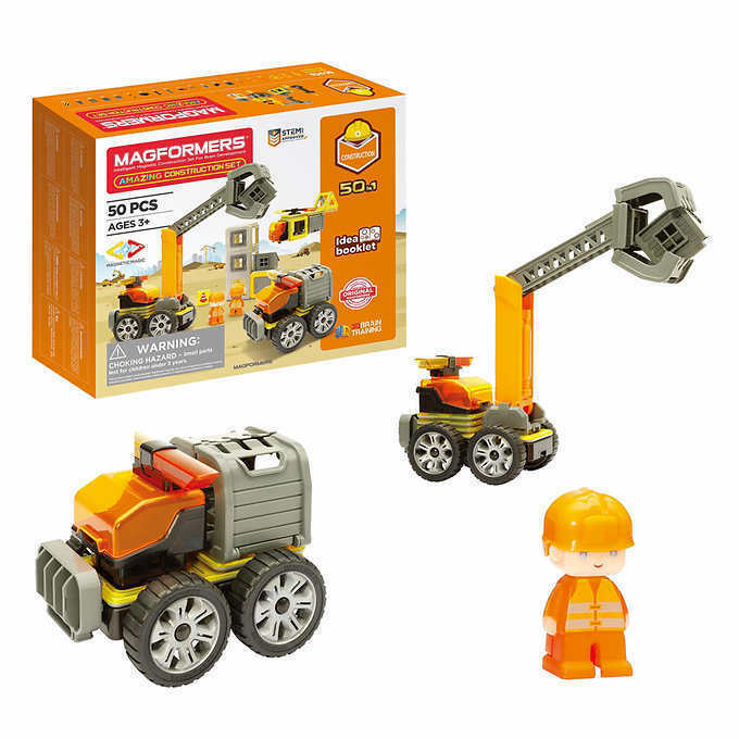 Primary image for NEW Magformers Construction Set, 50-piece FREE SHIPPING