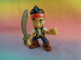 Disney Jake & the Neverland Pirates Jake w/ Sword PVC Action Figure - as is - $1.98