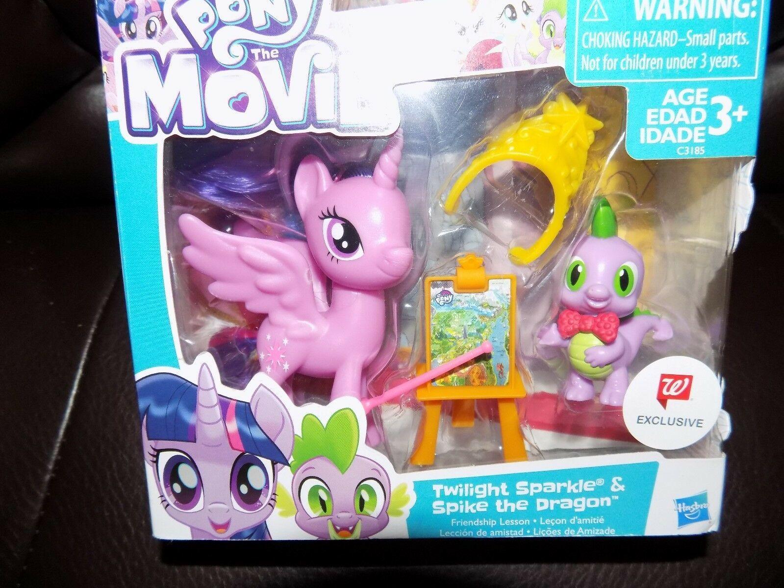 My Little Pony Twilight Sparkle Purple Horse Toy Walgreens