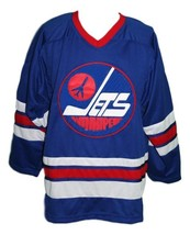 Bobby hull  9 winnipeg jets wha retro hockey jersey blue   1 thumb200