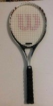 "Wilson Impact Oversize Tennis Racket - 4 1/4"" L2 Grip - $17.58"