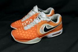 Rafael Nadal Men's NIKE Air Max Courtballistec 4.3 Tennis Shoes Orange 9.5 - $69.24