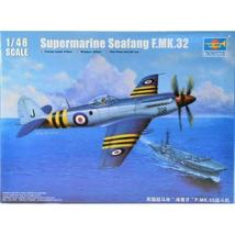 Trumpeter 1:48 Supermarine Seafang F.MK.32 Fighter plastic model fighter - $69.26+
