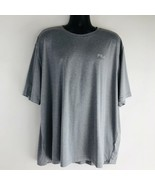 FILA Active Wear Performance Gray Short Sleeve T-Shirt - 4XL - $14.54