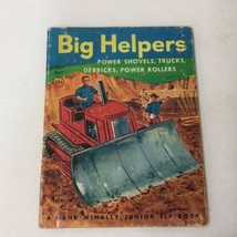 BIG HELPERS BY Irma Wilde RAND MCNALLY JR ELF BOOK 1953  - $9.89