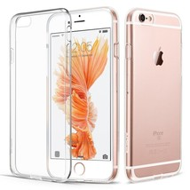 Case iPhone 6s Thin Clear Tpu Silicon Soft Back Cover Shock-Proof New - $5.64