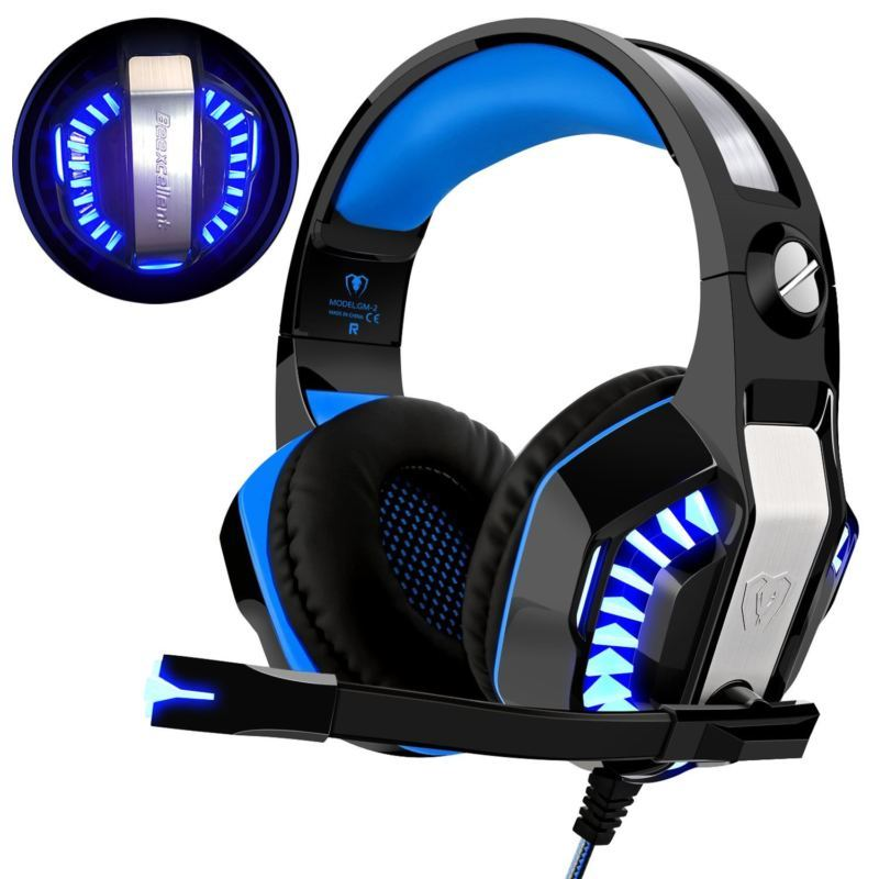 Gaming Headset für PS4 Xbox One PC, and 50 similar items