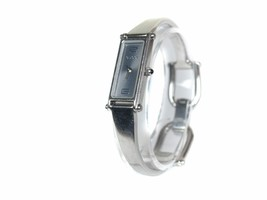 Auth GUCCI 1500L Metallic Gray Dial Stainless Steel Ladies Watch GW7855L - $250.57 CAD