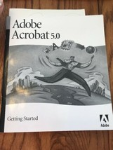 Adobe Acrobat 5.0 Getting Started Instructions Only Ships N 24h - $11.86