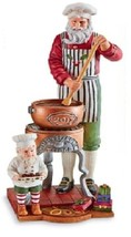 Lenox 2017 Annual Pencil Santa Figurine Santa's... - $118.80