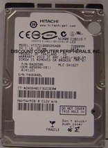 "NEW 80GB Hitachi 7200RPM SATA 2.5"" hard drive HTS721080G9SA00 Free USA Ship - $34.04"