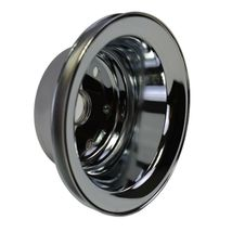 Crankshaft Pulley Single-Groove LWP Long Water Pump For Chevy SBC 262 307 400 image 3