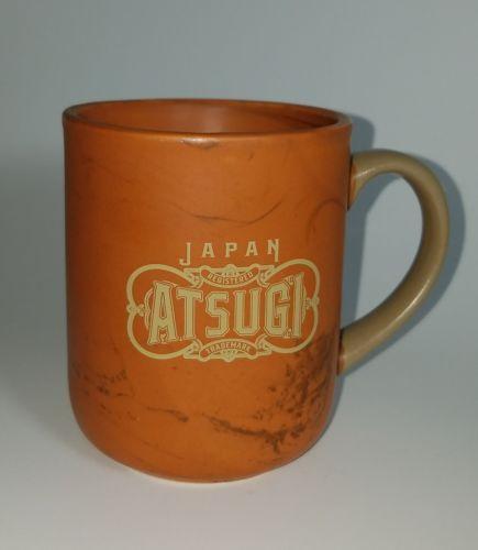 Japan Atsugi Orange Coffee Mug