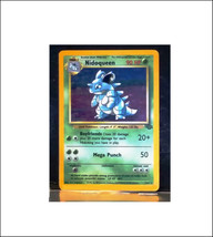 NIDOQUEEN 7/64 Rare Holo Jungle Series Set Unlimited Pokemon Cards NM - $16.99