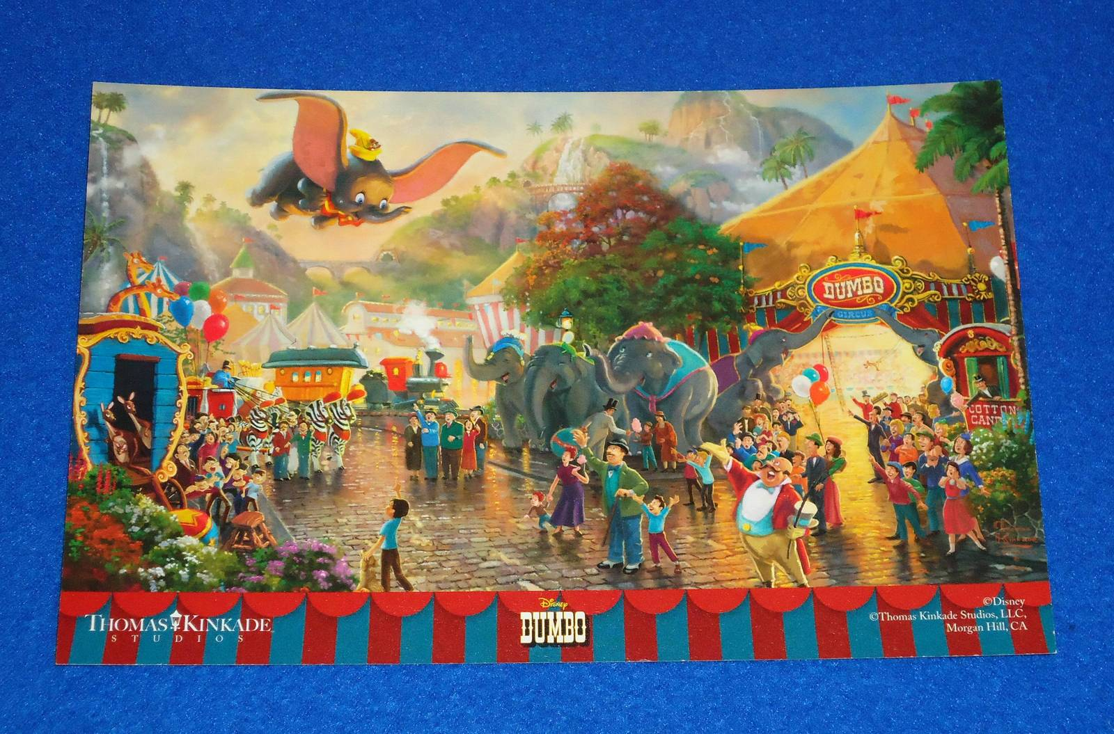 Thomas kincade dumbo picture card 1