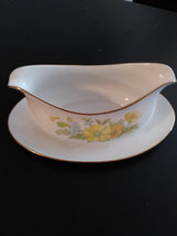 Vintage Ekco International Spring Bouquet Gravy Boat,Sugar Bowl,Creamer Fine Chi image 4