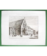 ARCHITECTURE PRINT : France Dijon Old Assembly ... - $34.64